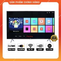 Smart Tivi TCL 55 inch Ultra HD 4K – Model L55P65-UF (Đen) Tích hợp DVB-T2, Wifi