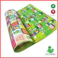 Thảm trẻ em maboshi 2 mặt giá tốt nhiều mẫu mã và kích thước 1.6x2m