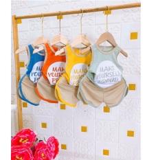 Bộ quần áo trẻ em cotton đũi QATE554 cho bé trai và bé gái