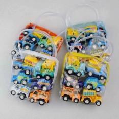 Bộ đồ chơi 6 ô tô chạy đà bằng nhựa
