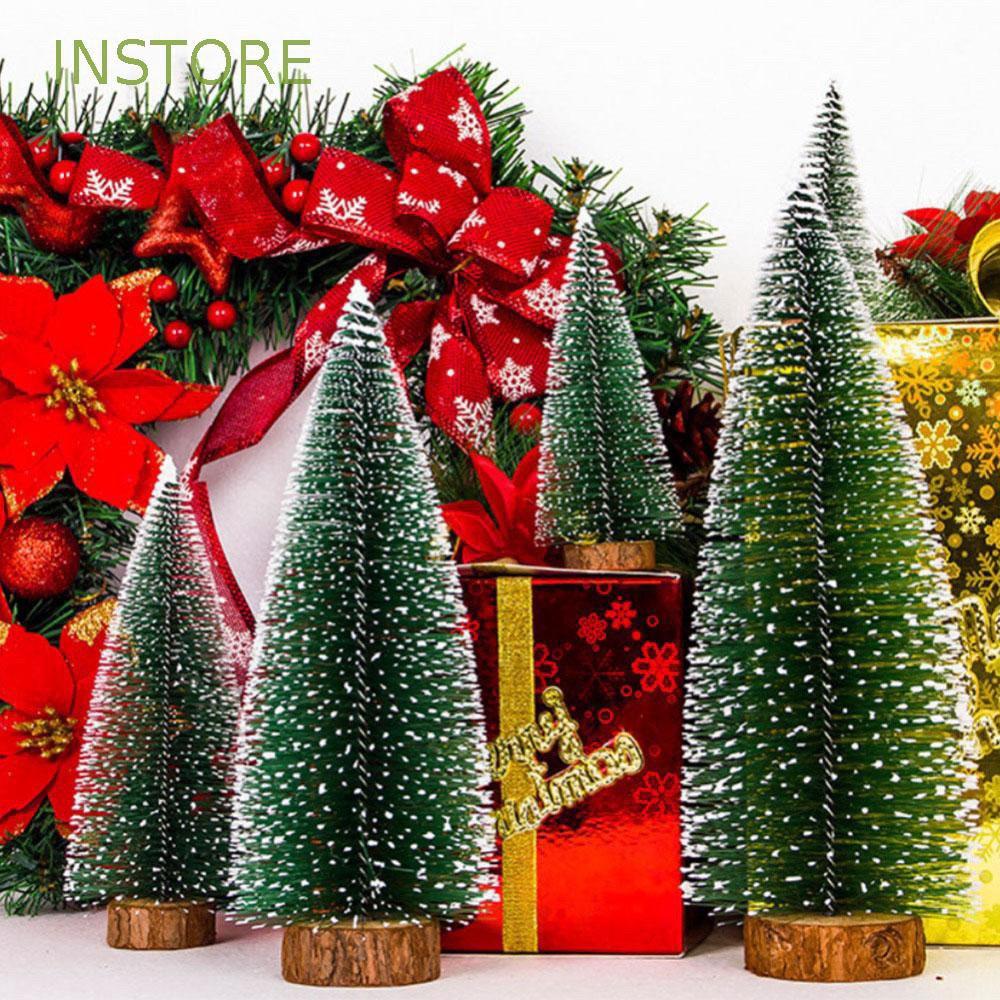 [HCM]Cây thông Noel mini để bàn trang trí giáng sinh(25cm)
