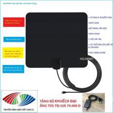 [TẶNG KHUẾCH ĐẠI TRỊ GIÁ 79.000] Ăng Ten TiVi kĩ thuật số trong nhà ,ăng ten truyền hình miễn phí cho TV có tích hợp đầu DVB-T2 , ăng-ten chính với các kênh 480p-1080p Cắm và phát , tivi, ăng ten cho đầu thu dvb ( có video thực tế )