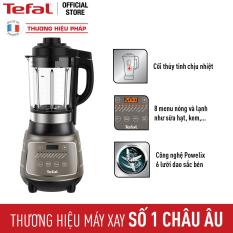 Máy xay sinh tố và làm sữa hạt đa năng Tefal BL967B66 1.75L-Lưỡi dao với công nghệ Powelix – Công suất 1300W – Hàng chính hãng