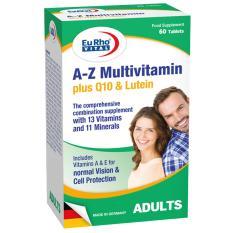 Thực phẩm chức năng EuRho® Vital A-Z Multivitamin Plus Q10 & Lutein