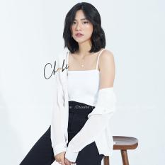 Áo hai dây Choobe mặc trong, chất mịn, dáng ôm, vải cotton co giãn tốt, dây có chốt điều chỉnh, nhiều màu sắc – A11