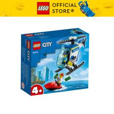 LEGO CITY 60275 Trực Thăng Truy Bắt Trên Biển ( 51 Chi tiết) Bộ gạch đồ chơi lắp ráp cho trẻ em