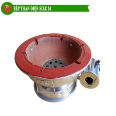 Bếp than hoa quạt điện size 24cmTrí Việt