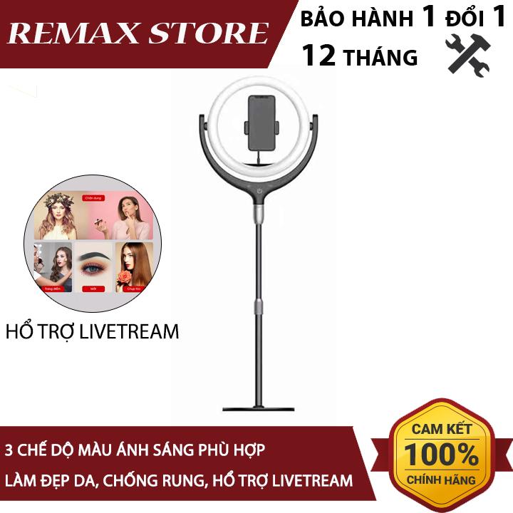 Bộ giá đỡ tích hợp đèn Livestream Selfie 3 cấp độ sáng Remax RL-LT13