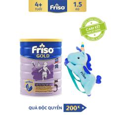 [Freeship toàn quốc] Sữa bột Friso Gold 5 1.5 kg cho trẻ từ 2-4 tuổi + Tặng Balo kì lân xịn xò trị giá 200K
