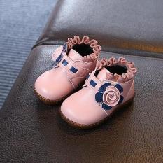 giày bốt da mềm bé gái size 21-30