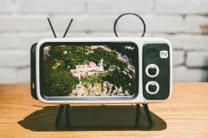 LOA BLUETOOTH 5 IN 1 – THIẾT KẾ TV CỔ ĐIỂN