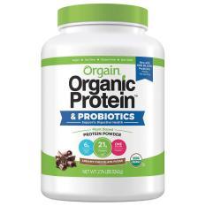 Bột đạm protein thực vật hữu cơ Orgain 1242g