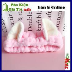 Băng đô nơ tai mèo cao cấp, Chất liệu vải nhung Dày dặn, Mềm Mịn, Kiểu dáng năng động, Trẻ Trung, Màu sắc đa dạng