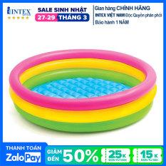 Bể bơi phao 3 tầng 1m47 INTEX 57422 – Hồ bơi cho bé mini, Bể bơi phao trẻ em