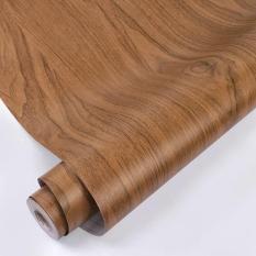 10m giấy dán tường giả gỗ loại đẹp khổ rộng 45cm có keo dán sẵn