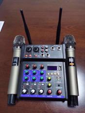 [ XẢ KHO TẶNG KÈM 2 MÍC ] COMBO Bộ Mixer Karaoke 2020, Bộ Mixer YAMAHA G4 Karaoke Gia Đình, Mixer Karaoke Hay Nhất Hiện Nay, Dùng Cho Tất Cả Các Loại Công Suất Ampli, Loa Kéo, Loa Di Động-Nhỏ Gọn-Tiên Lợi-Chuyên Nghiệp, BH 12 Tháng