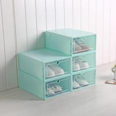 (Lẻ)Hộp Đựng Giày , Tủ Nhựa Lắp Ghép Thông Minh Đa Năng Tiện Lợi Tiết Kiệm Không Gian JJ0201