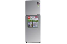 Tủ lạnh Sharp Inverter 224 lít SJ-X251E-SL – Inverter tiết kiệm điện. Công nghệ kháng khuẩn khử mùi:Bộ lọc với các phân tử Ag+Cu Công nghệ bảo quản thực phẩm:Ngăn rau quả cân bằng độ ẩm