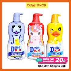 Tắm Gội 2 Trong 1 Dnee Kid Hình Thú 400ml Thái Lan Dành Cho Bé – Dumi Shop