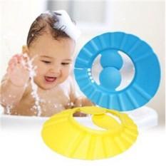 Mũ tắm gội đầu có bịt tai điều chỉnh kích thước phù hợp cho mọi lứa tuổi