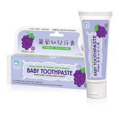 Kem đánh răng cho bé từ 6 tháng tuổi hương trái cây tự nhiên hộp 50g kuku ku1052 ku1087 ku1099