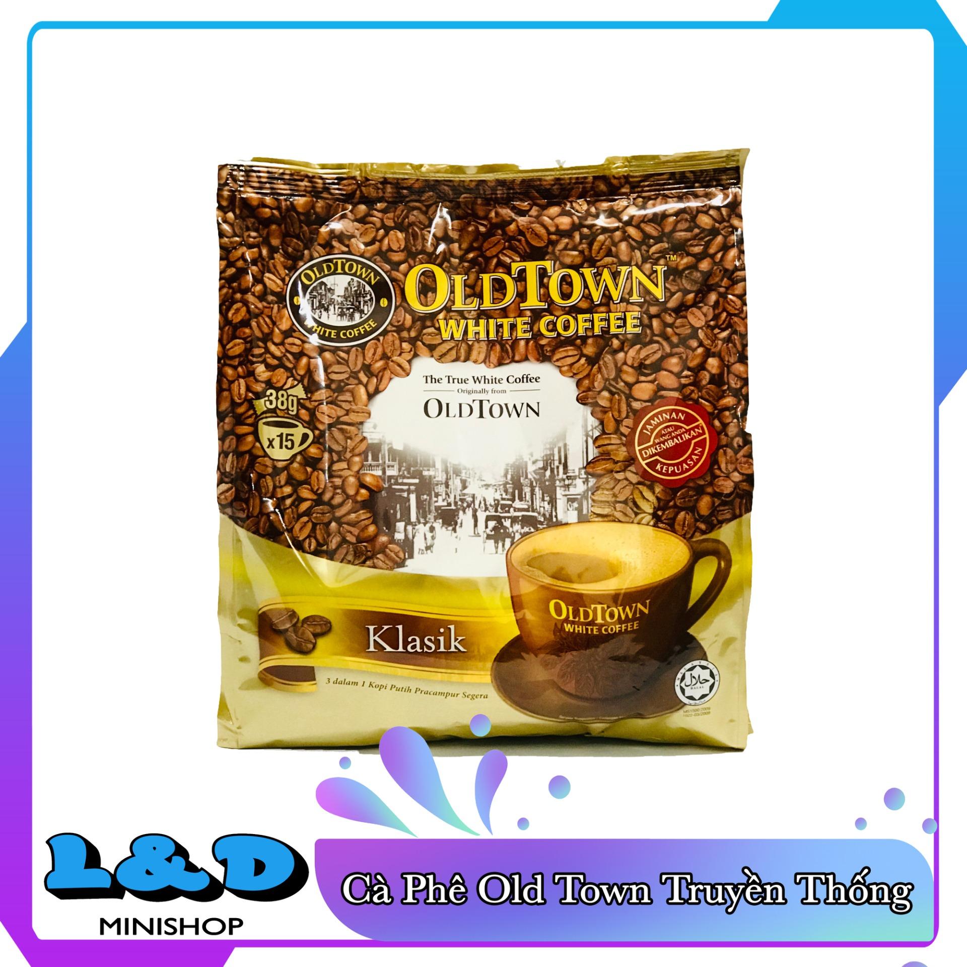 Cà phê trắng Oldtown Classic Malayisa (vị truyền thống)