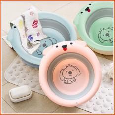 Chậu rửa mặt gấp gọn hình cún cho bé, sản phẩm tốt với chất lượng và độ bền cao, cam kết giống như hình