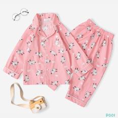 Bộ Pijama Cho Bé Chất Liệu Cao Cấp Họa Tiết Hình Thời Trang Cao Cấp
