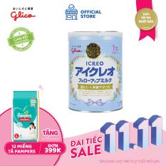 [TẶNG TÃ PAMPERS CHO ĐƠN 399K] Sữa Glico Icreo Follow up Milk số 1 820g dành cho trẻ từ 9 – 36 tháng – 100% nội địa Nhật Bản – HSD tối thiểu 10 tháng