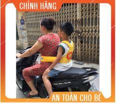 [AN TOÀN CHO BÉ]- Đai an toàn đi xe máy cho bé dạng Balo