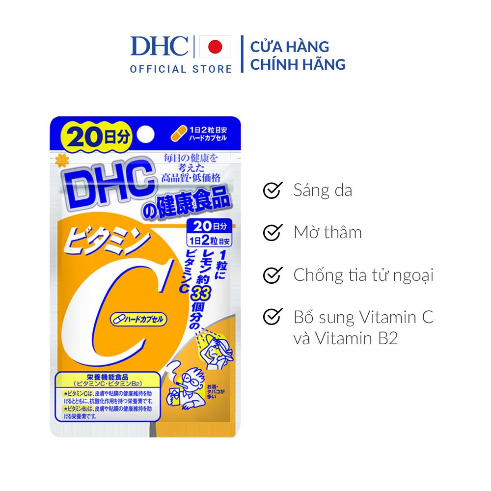 Viên uống DHC bổ sung vitamin C 20 ngày của Nhật Bản
