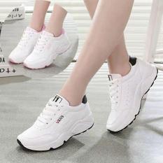 Giày Sneaker Nữ Đẹp Mới Nhất Đế Cao Chống trơn trượt.