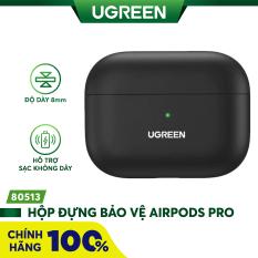 [Nhập ELMAY21 giảm thêm 10% đơn từ 99k] Hộp đựng bảo vệ chuyên dụng cho tai nghe Airpods Pro hỗ trợ sạc dây và không dây UGREEN LP324 80513 – Hãng phân phối chính thức