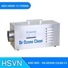 Máy khử mùi phòng khách sạn Drozone Clean C3
