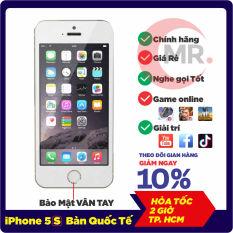 Điện thoại giá rẻ iPhone 5s – 16GB – quốc tế youtube, tiktok, facbook Game online mượt, nghe gọi to, NGUYÊN BẢN, BẢO HÀNH 6 THÁNG MR CAU