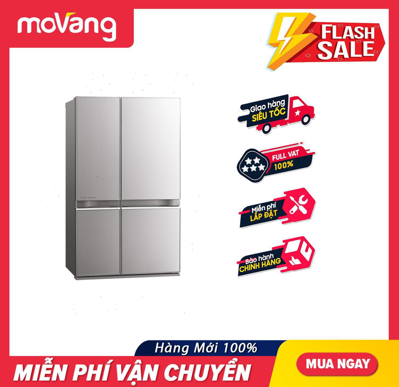 [TRẢ GÓP 0%] Tủ lạnh Mitsubishi Electric Inverter 635 lít MR-L78EN-GSL-V – Công nghệ Neuro Inverter Hệ thống làm lạnh đa chiều