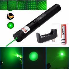 Đèn laser – bút laze lazer 303 tia xanh / đỏ cực sáng công suất lớn chiếu xa 3km Tặng kèm Pin sạc bao gồm bộ sạc, có điều chỉnh hoa văn hiệu ứng ánh sáng