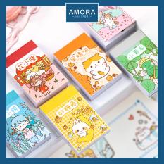 Small Meatball Sticker – 50 hình khác nhau – nhãn dán dễ thương – Amora UNI
