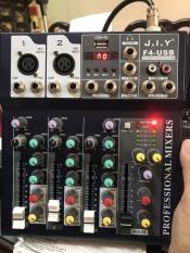 [ Chính hãng ] MIXER KARAOKE chính hãng J.I.Y có bluetooth, có màn hình, bàn trộn âm, chỉnh âm thu âm livestream karaoke chính hãng có bluetooth