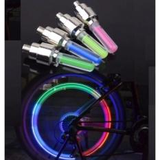 Bộ 2 Đèn LED gắn nắp van xe máy, ô tô