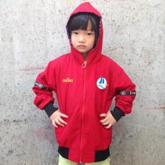 Áo khoác dù thời trang GOKING cho bé gái bé trai, áo khoác gió trẻ em hàng hiệu xuất khẩu (Hình thật)