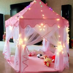 [HCM]Lều ngủ công chúa loại lớn cho bé ( không kèm dây đèn như hình mẫu )