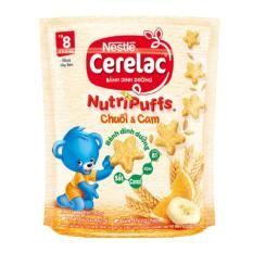 [Free Ship + Mua 2 Combo giảm 5%]Bánh ăn dặm cho bé nestle chính hãng nutri puffs Suboo Kids AD 03 Bánh quy ngọt ngũ cốc ăn dặm cho bé từ 9m+