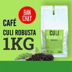 Cà phê rang xay nguyên chất Culi Robusta 1KG – The Kaffeine Coffee – Theo dõi shop nhận ngay 10% không điều kiện – rang light (coffee)