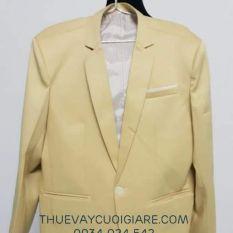 Thanh lý nguyên bộ vét màu vàng