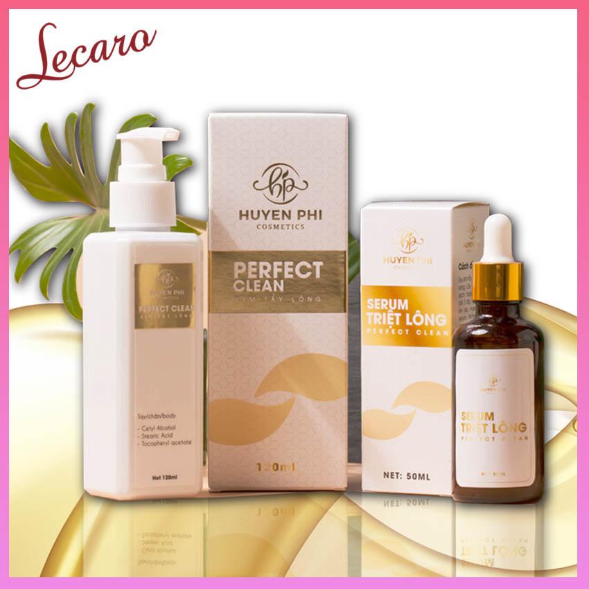 [MUA 1 TẶNG 1] Kem Tẩy Lông Perfect Clean Huyền Phi 120ml Triệt Lông Nách, Triêt Lông Vùng Kín Lông...