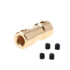 Đầu nối – Khớp nối trục động cơ H bằng đồng 5mm – 5mm (1 cái)