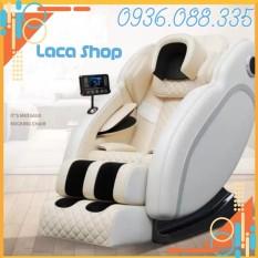 [TOP 1] Ghế massage toàn thân cao cáp, kèm màn hình điều khiển cảm ứng tiện ích.