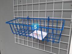 RỔ TREO KHUNG LƯỚI 8 mẫu nhúng nhựa gồm 4 màu đen, hồng, trắng, xanh dương
