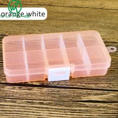 SHOOTHE Hộp đựng thuốc 10 ngăn bằng nhựa có thể tháo rời đựng đồ trang sức giá tốt – INTL